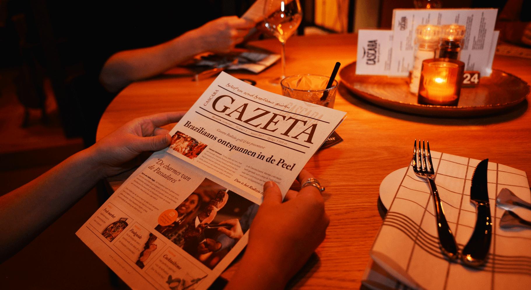 Cascara rodizio gazeta
